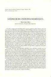 Genoma humà i patogènia neurològica