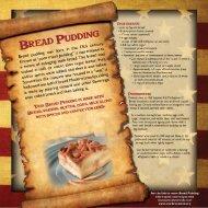 Bread Pudding & Brunswick Stew Recipes