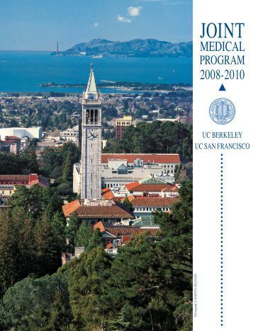 JMP Brochure - Joint Medical Program - University of California ...