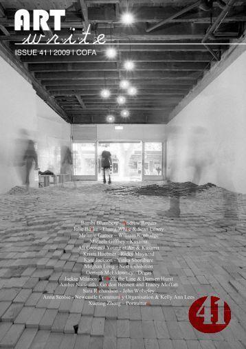 ISSUE 41 | 2009 | COFA - COFA Blogs
