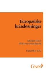Europæiske kriseløsninger - Cevea