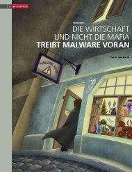 tReiBt malWaRe voRan - pandanet.ch GmbH