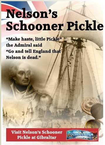 Neslons Schooner Pickle Education Programme
