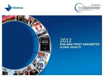 Edelman 2012 Trust Barometer