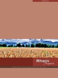 Rhein Magazin Sommer 2011