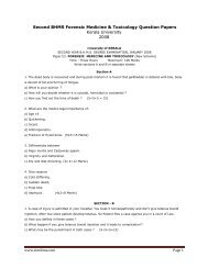 Second BHMS Forensic Medicine & Toxicology Question ... - Similima