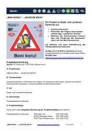 """""""BENI KORU!"""" – """"SCHÜTZE MICH!"""" Ein Projekt im Stadt- und ..."""