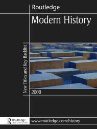 Modern History 2008 (UK) - Routledge