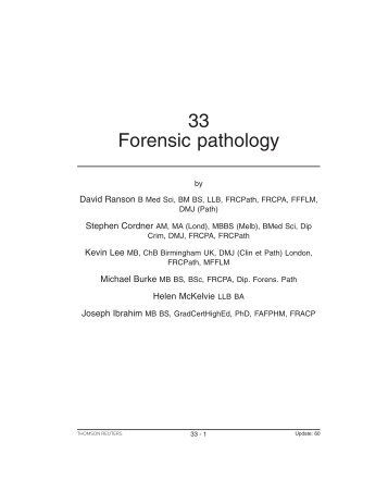 Forensic Pathology (Preview).pdf - Thomson Reuters