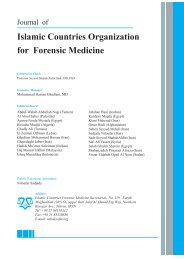 Islamic Countries Organization for Forensic Medicine