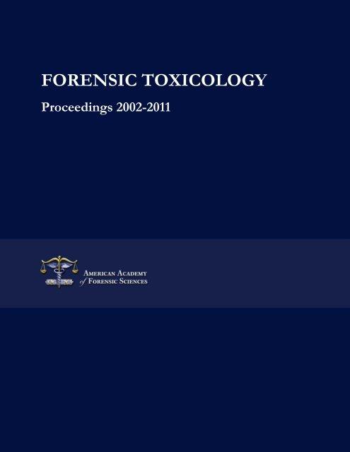 Forensic Toxicology Bio Medical Forensics