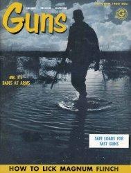 GUNS Magazine October 1960