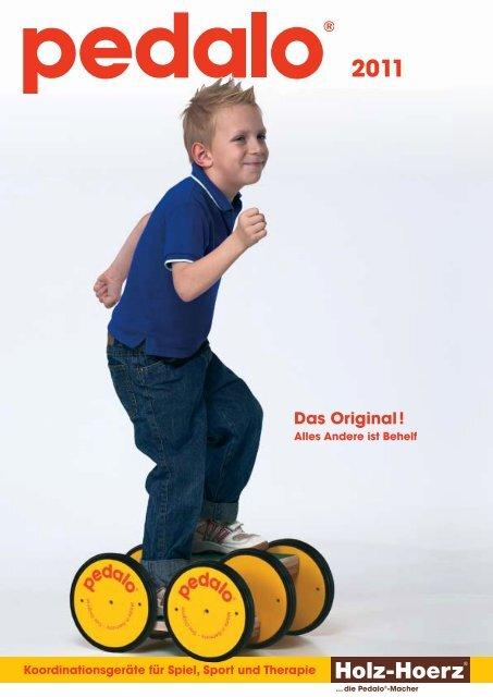 NEU ! Original pedalo Stelzenbacken Befestigungsmaterial 1 Paar incl