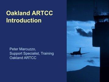 Oakland ARTCC Intro Briefing