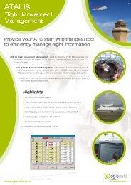 Flight Movement Management - Atalis.aero - Egis Avia