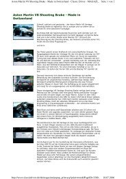 Aston Martin V8 Shooting Brake - Made in ... - Roos Engineering Ltd
