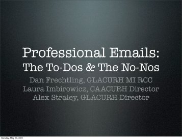 how to make a professional email