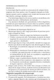 HEMORRAGIAS DIGESTIVAS Introducción La hemorragia digestiva ...