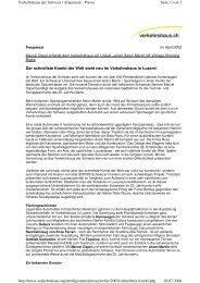 Seite 1 von 2 Verkehrshaus der Schweiz ... - Roos Engineering Ltd