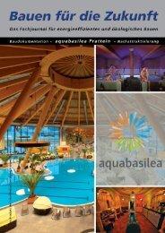 Das Dach der Aquabasilea-Wasserwelt - Lika-Media-Consulting