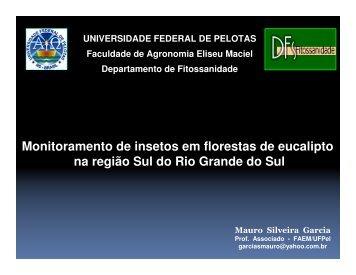 Monitoramento de insetos em florestas de eucalipto na região ... - Ipef