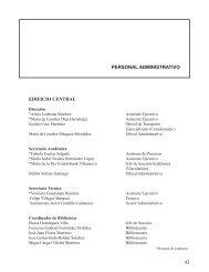 PERSONAL ADMINISTRATIVO EDIFICIO CENTRAL