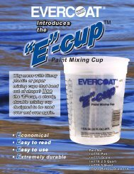 Paint Mixing Cup - Evercoat