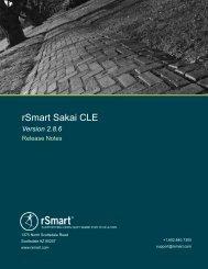 Sakai 2.8.6 - Amazon Web Services