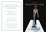 Spring Fashion Fling - Holy Name Hospital