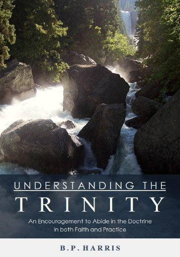 Understanding the Trinity - Silica Bible Chapel