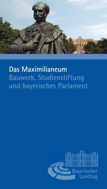Das Maximilianeum - Bayerischer Landtag