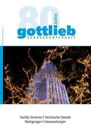 Gottlieb News Dezember 2011 (Dateiformat:PDF, 1060 ... - Gottlieb AG