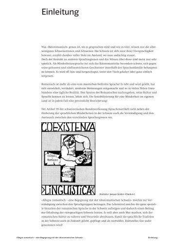 Kapitel: Einleitung, Aufbau, Inhalt