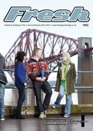 FRESH Course Directory 2013-14 - Adam Smith College
