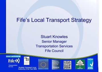 Fife's Local Transport Strategy - University of St Andrews