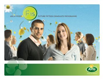 ARLA FOODS FUTURE FIFTEEN GRADUATE PROGRAMME