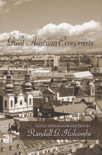 15 Great Austrian Economists - Ludwig von Mises Institute