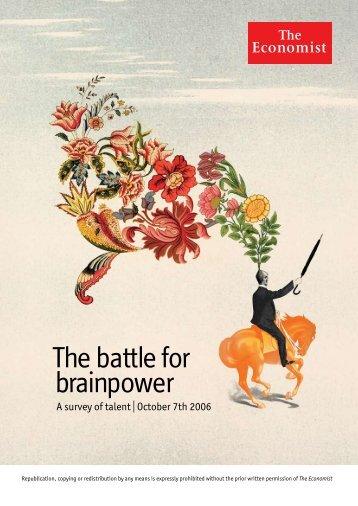 The battle for brainpower