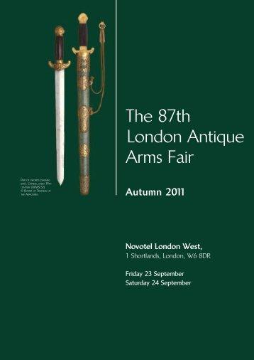 The 87th London Antique Arms Fair