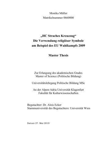 Cathleen morawetz masters thesis