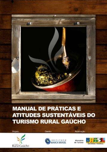 manual de práticas e atitudes sustentáveis - Ministério do Turismo