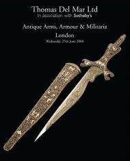 Thomas Del Mar - Arms & Armour Summer 2008