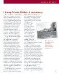 Hagley Library Fiftieth Anniversary - Hagley Museum and Library - Page 3