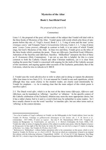 Mysteries of the Altar Book I. Sacrificial Food - 300 Multiple Choices