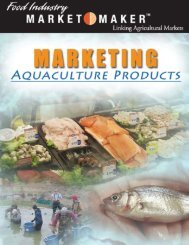 Marketing Aquaculture Products — 1