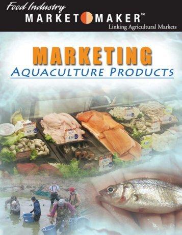 Marketing Aquaculture Products — 1