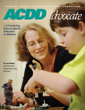 A Continuing Series on Special Education in Alabama