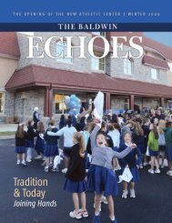 Tradition & Today - Baldwin School