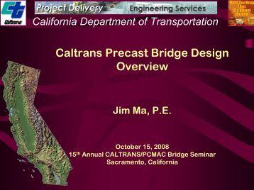 California Precast Bridge Design In the Past - Precast / Prestressed ...