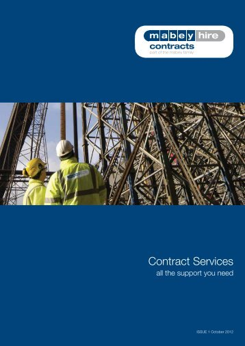 Contract Services - Mabey Hire